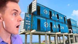 A house made of Shipping Containers in the Philippines?!