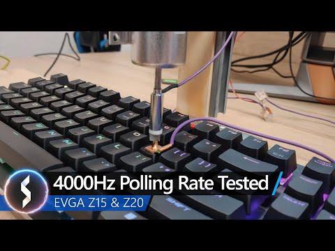 Polling checker keyboard rate Keyboard scan