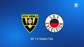 Video Gol Pertandingan VVV Venlo vs Excelsior