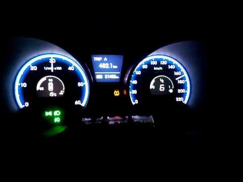 Hyundai IX35 2.0 crdi 184hp acceleration 0 180kmh
