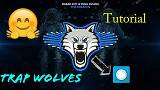 {No Premium}[Tutorial] Trap Wolves Visualizer on Avee Music Player (1.2.68)