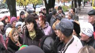 Митинг предпринимателей в Котовске Одесской области.(местная власть совершено не желает участвовать в жизни города., 2010-10-20T19:37:28.000Z)