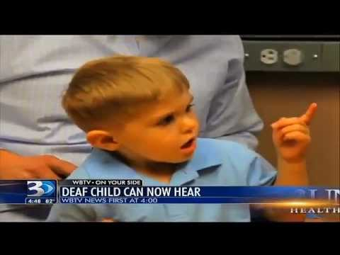 Image result for This Deaf Boy Hears Father's Voice For the First Time … His Reaction Will Melt Your Heart [VIDEO]