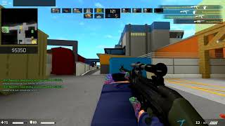 ROBLOX COUNTER BLOX G3SG1 KILL MONTAGE #1