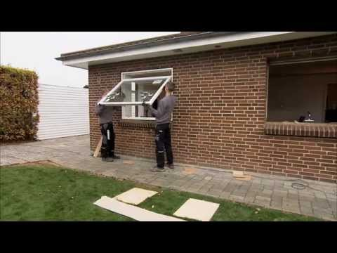 How to seperate sash from frame on Rationel ALDUS/DOMUS topguided windows