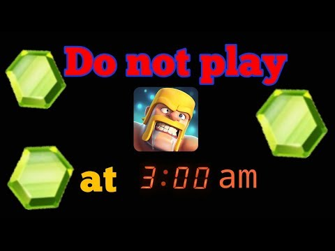 Never play this game at 3 am | Clash Of Clans Night Mode