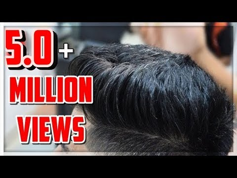 Modern Pompadour Mid Fade | Haircut Hairstyle trend 2017 | TheRealMenShow★ #9