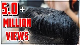 Modern Pompadour Mid Fade★Haircut Hairstyle trend 2017★TheRealMenShow★ #9