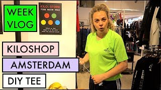 KILOSHOP IN AMSTERDAM + WEEKVLOG