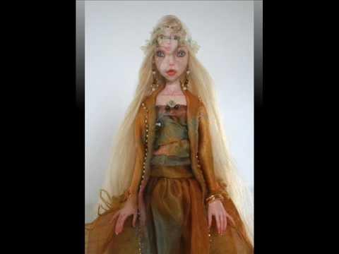 OOAK ball jointed (BJD) art dolls : Michal & Bathsheba ...