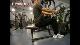 Krafttraining für Einsteiger - Trainingsroutine im Fitnessstudio
