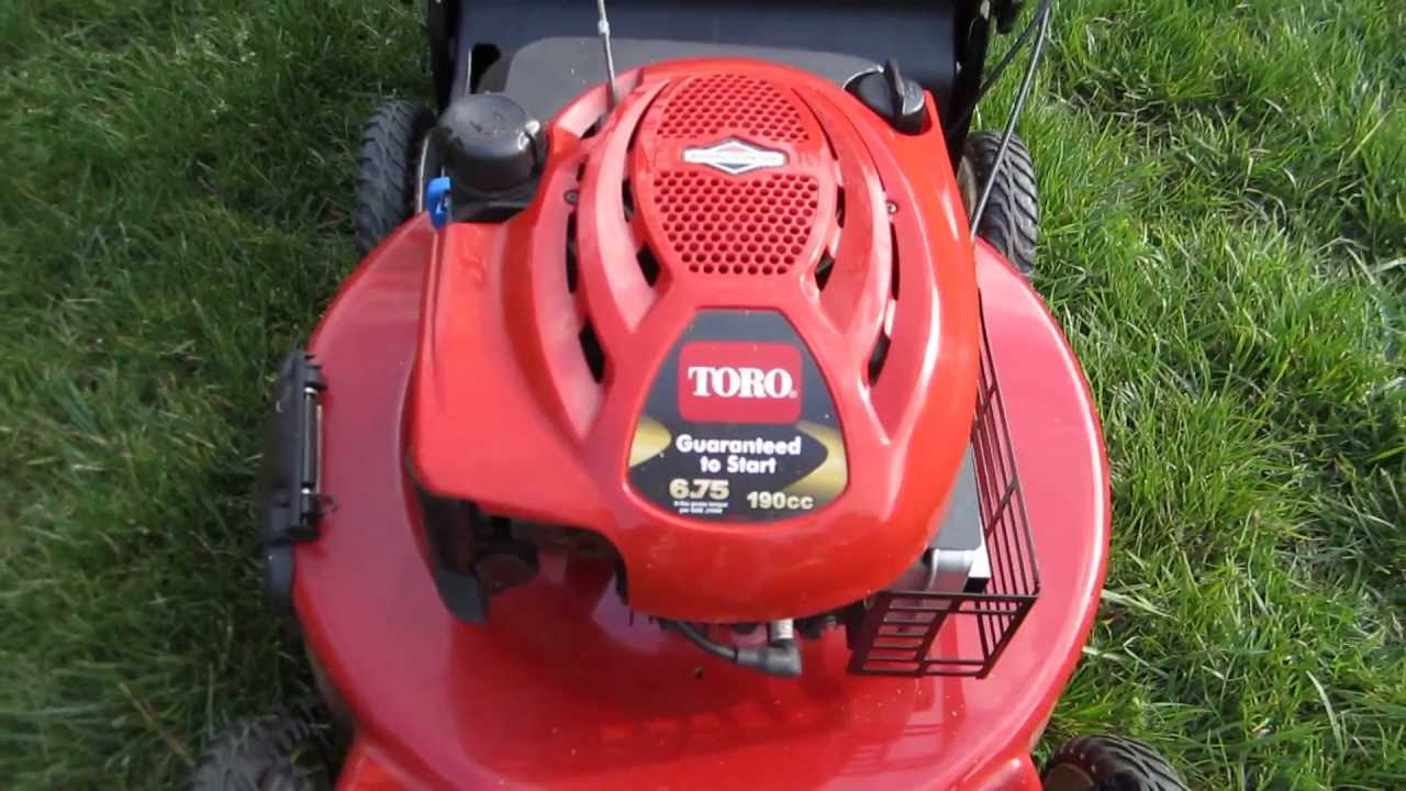 toro 22 inch recycler personal pace lawn mower update first day rh youtube com toro personal pace mower parts toro personal pace mower manual pdf
