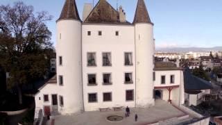 Château de Nyon, DJI Phantom v1.1.1 - Zenmuse H3-3D