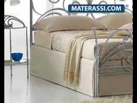 Letto in Ferro Battuto Mod. Maya in offerta. - YouTube