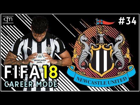 FIFA 18 Newcastle Career Mode: Pertandingan Perdana Premier League Lawan Spurs Away #34