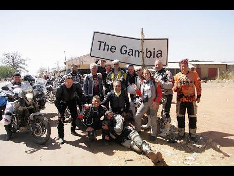West Africa Gambia motorbike trip 2017