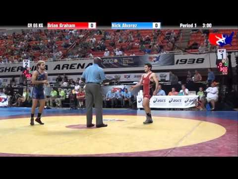 Brian Graham vs. Nick Alvarez