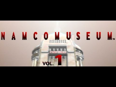 Classic PS1 Game Namco Museum on PS3 in HD 720p