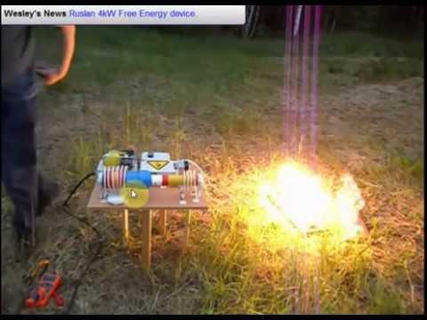 Free Energy June 2015 Ruslan 4kW generator English translation by Wesley