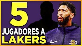 5 Jugadores en FICHAJE de los Lakers para Lebron James y Anthony Davis 🏀 | NBA Lakers en Español