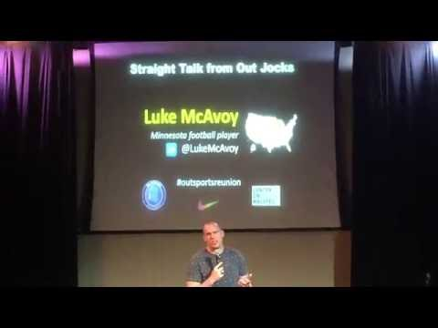 Outsports Reunion Speech Luke McAvoy