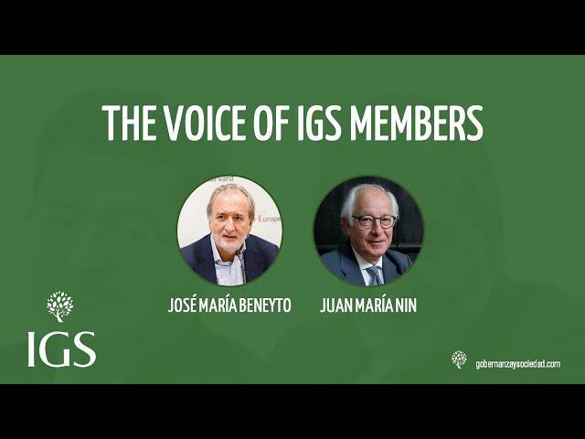 Entrevista D. José María Beneyto y D. Juan María Nin: Grandes Retos Gobierno Corporativo [2021]