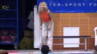 Аквааэробика для похудения: примеры и упражнения