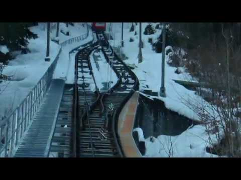 Most Dangerous in world, Engineering, Linthal Brown Forest Railway, Switzerland.