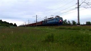 Фото RZD ChS6   ЧС6  с поездами Красная стрела и Экспресс