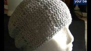 Eyelet Beanie - Includes Brim Tutorial Part 1 of 2