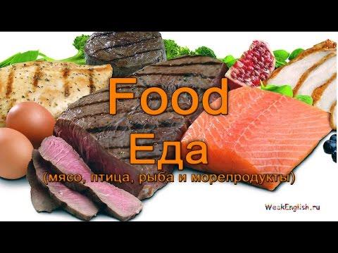 Еда по-английски (мясо, рыба, птица и морепродукты)