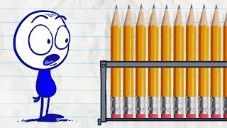 Pencilmate Can't Remember his Password! -in- PENCILMATRIX - Pencilmation Cartoons