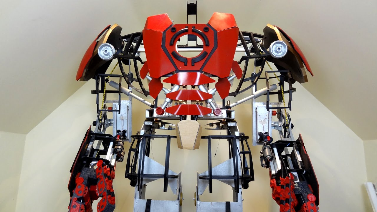 XRobots Iron Man Hulkbuster Part 23 More 3D Printed Frame Building