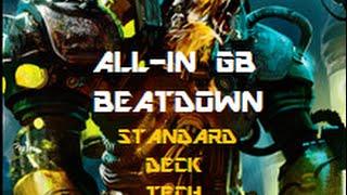 kaladesh standard deck tech all in gb beat down