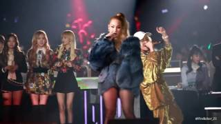 Fancam focus CL in 2016 SBS Gayodaejun 161226 (?1,000,000) MP3