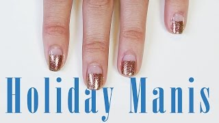 DIY Holiday Manicures