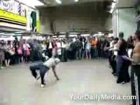 Break Dancing Fail