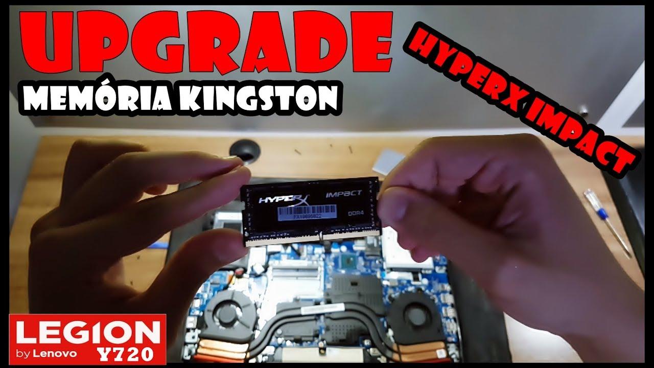 🔴LENOVO LEGION Y720 - UPGRADE RAM HYPERX 16GB 2400MHz ‹ LuanziN ›