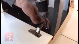 Как самому собрать фабричную кухню(Видео по сборке фабричной кухни. Как собрать фабричную мебель, как установить кухню, как навешивать кухонны..., 2013-12-17T11:55:56.000Z)