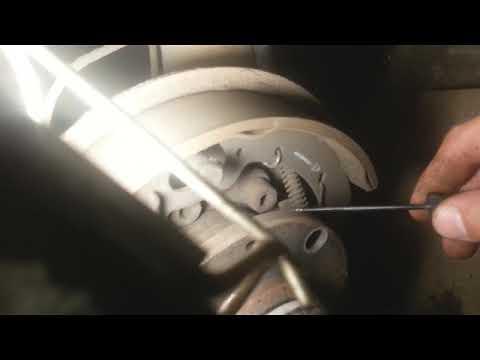 """"""" Приора"""" улучшаем  ручник."""