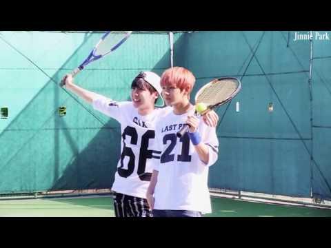 """JUNGKOOK """"V é Horrível!""""   BTS Joga Tênis, Basketball E Ping Pong [Part 5]"""