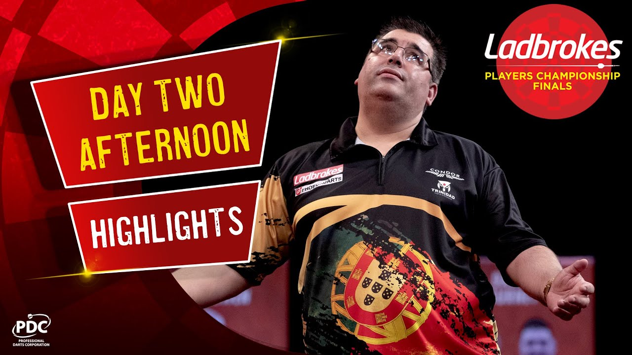 Day Two Afternoon Highlights | 2020 Ladbrokes Players Championship Finals