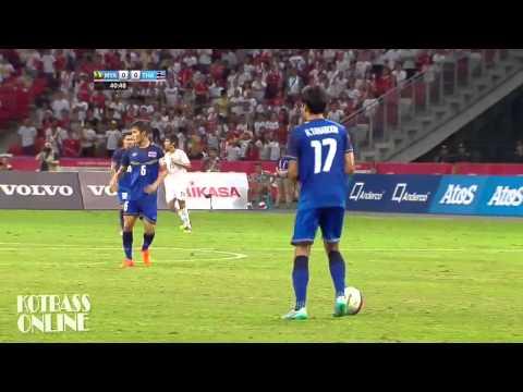 ตั้ม ธนบูรณ์+แบ็ค อาทิตย์  กองหลังทีมชาติไทยซีเกมส์  [ไทย 3-0 เมียนมาร์]