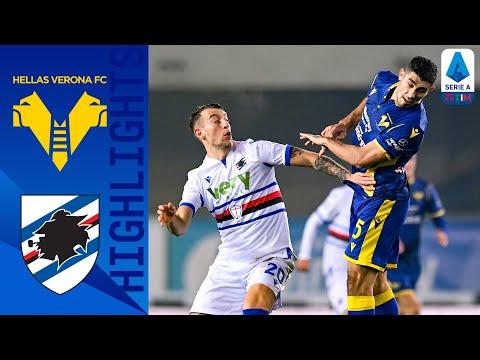 Hellas Verona 1-2 Sampdoria   Zaccagni non basta, è 1-2   Serie A TIM
