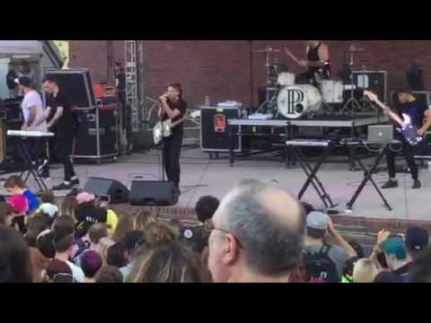 PVRIS - St. Patrick Live Boston City Hall Plaza 2016
