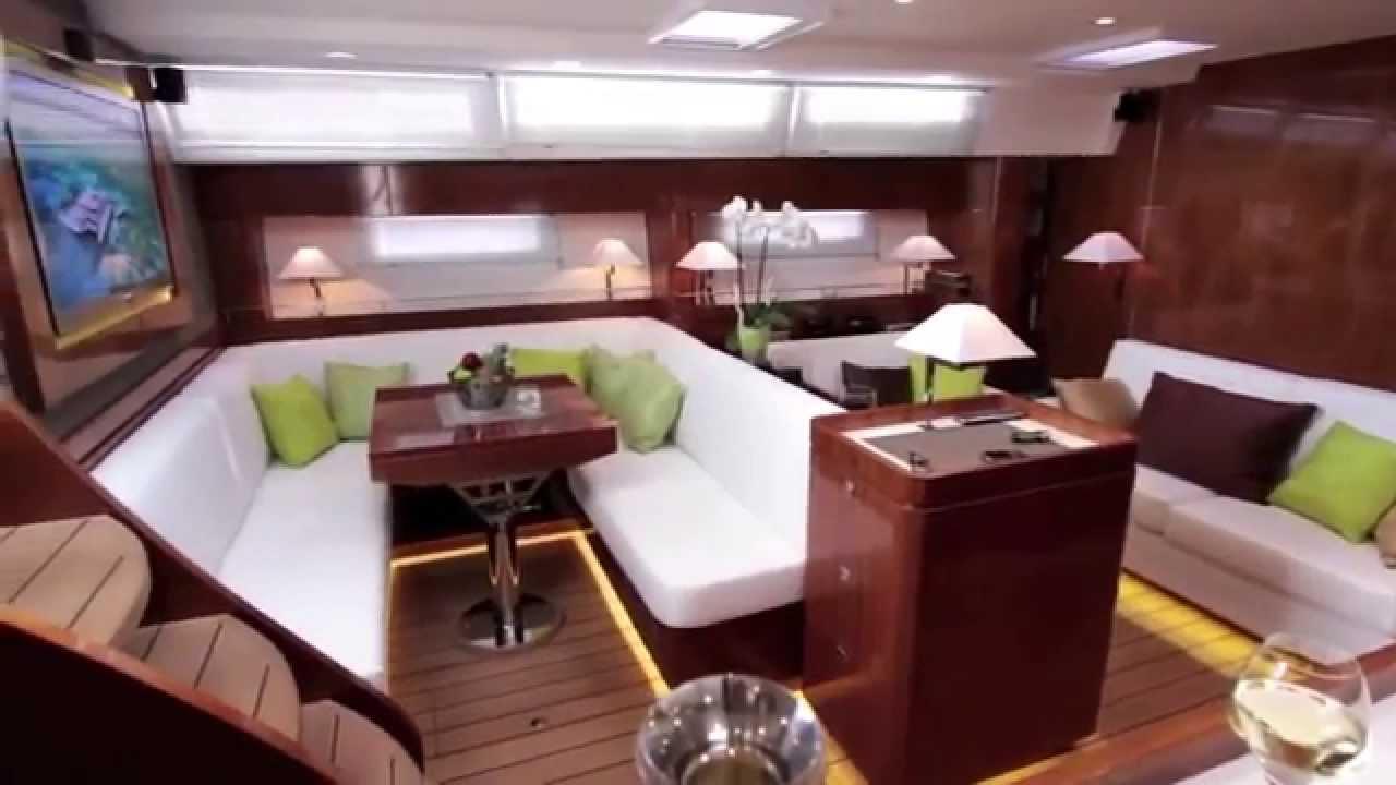 Amel 64 Interior by Berret-Racoupeau Yacht Design