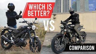 Yamaha XSR 155 vs Husqvarna Svartpilen 200