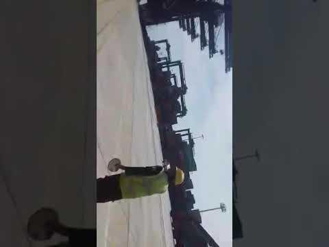 cargo vessel collision in Karachi Pakistan