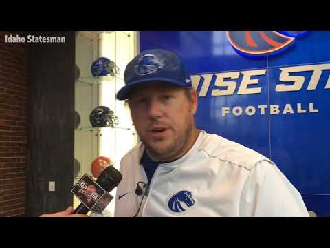 Boise State offensive line coach Brad Bedell knows his group must step up