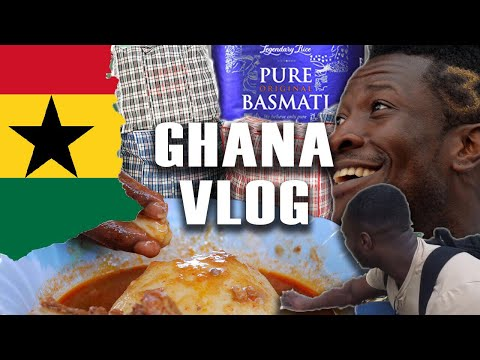 BACK IN THE MOTHERLAND BABY | GHANA, ACCRA | VLOG #7 | DANNYB